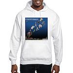 Even Santa Outsources Hooded Sweatshirt