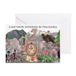 May Your Kingdom Be Peaceable Greeting Card