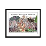 May Your Kingdom Be Peaceable Framed Panel Print