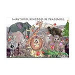 May Your Kingdom Be Peaceable Mini Poster Print