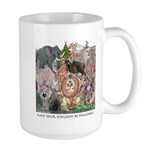 May Your Kingdom Be Peaceable Large Mug