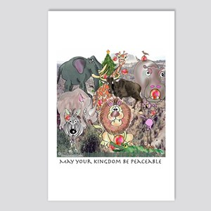 May Your Kingdom Be Peaceable Postcards (Package o