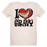 I Love Gravy Organic Kids T-Shirt