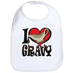 I Love Gravy Bib