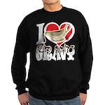 I Love Gravy Sweatshirt (dark)