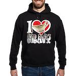 I Love Gravy Hoodie (dark)