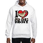 I Love Gravy Hooded Sweatshirt