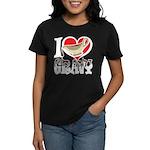 I Love Gravy Women's Dark T-Shirt