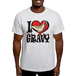 I Love Gravy Light T-Shirt