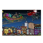 Santa Under New Management Postcards (Package of 8