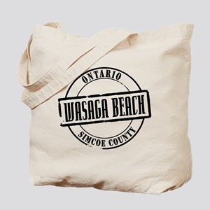 Wasaga Beach Title Tote Bag