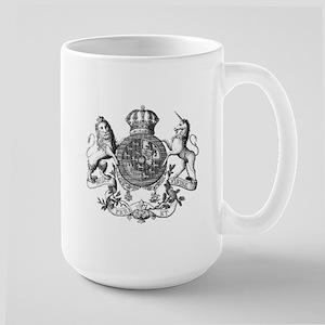 Heraldry Large Mug