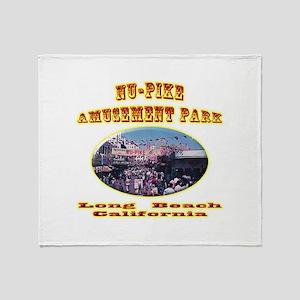 Nu-Pike Amusement Park Throw Blanket