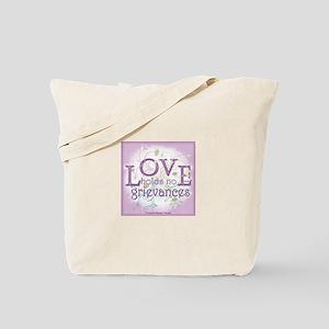 ACIM-Love Holds No Grievances Tote Bag