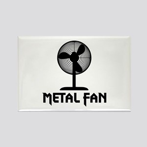 Metal Fan Rectangle Magnet