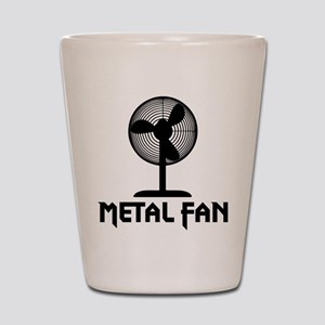 Metal Fan Shot Glass