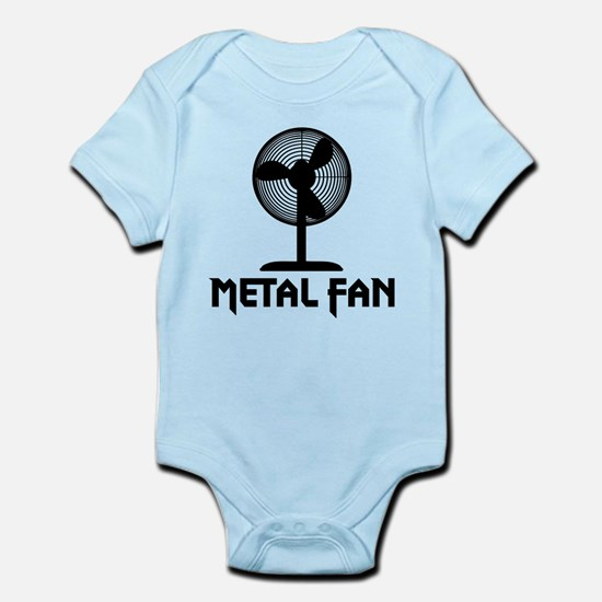 Metal Fan Infant Bodysuit