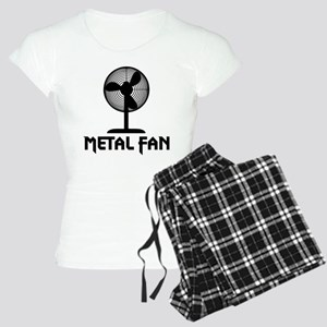 Metal Fan Women's Light Pajamas
