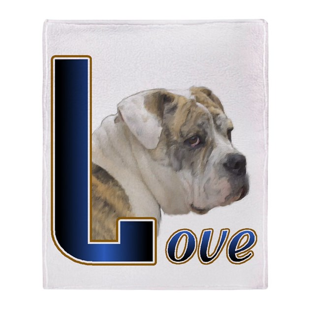 english bulldog blanket english bulldog love throw blanket by shopspringdale 3079