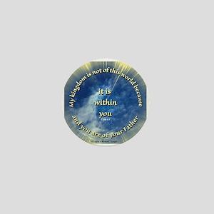 ACIM-My Kingdom Mini Button