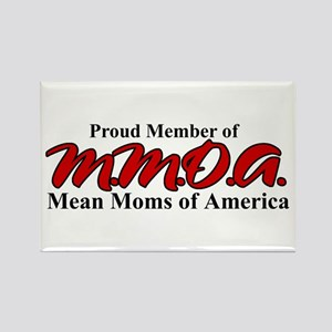 Mean Moms of America Rectangle Magnet
