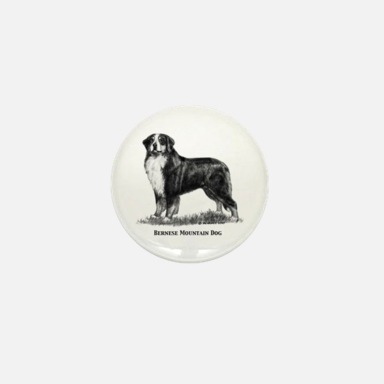 Bernese Mountain Dog Mini Button (10 pack)