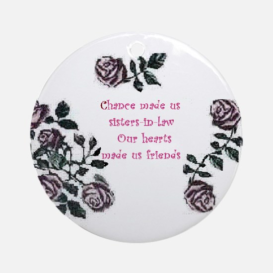 Sister-Inlaw... Ornament (Round)