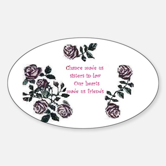 Sister-Inlaw... Oval Decal