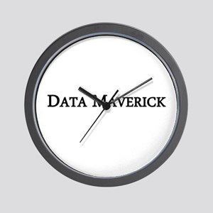 Data Maverick Wall Clock