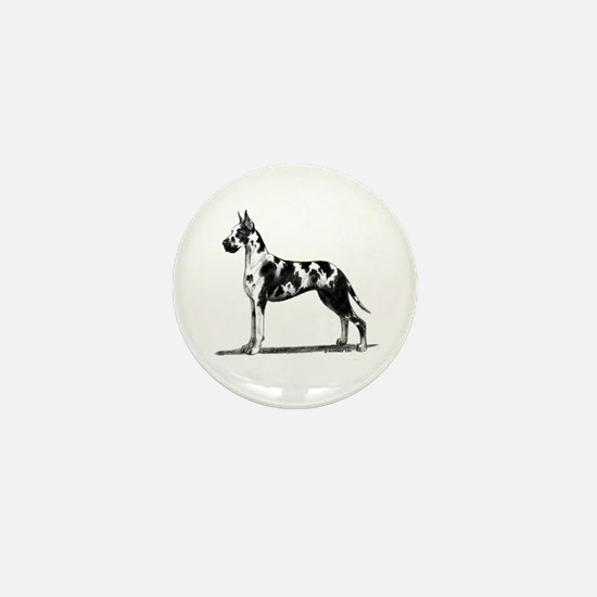 Great Dane Mini Button (10 pack)
