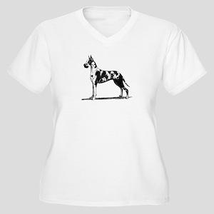 Great Dane Women's Plus Size V-Neck T-Shirt