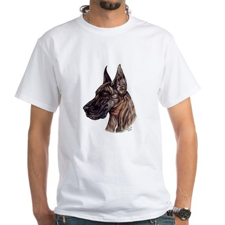 Great Dane White T-Shirt