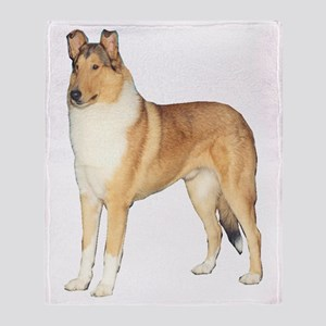 Smooth Collie Gifts Throw Blanket