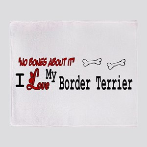 NB_Border Terrier Throw Blanket