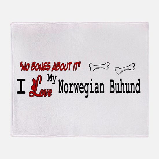 Norwegian Buhund Gifts Throw Blanket