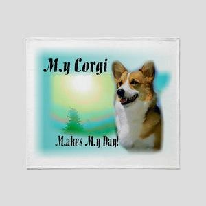 Welsh Corgi Gifts Throw Blanket