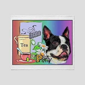 Boston Tea Party Throw Blanket