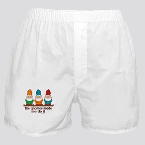 The Gnomes Made Me Do It Boxer Shorts