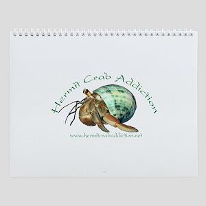 Vector Crabs Wall Calendar