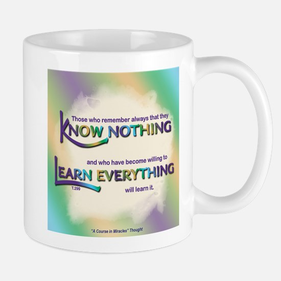 ACIM-Know Nothing Mug