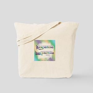 ACIM-Know Nothing Tote Bag