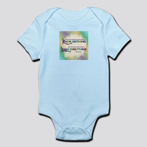 ACIM-Know Nothing Infant Bodysuit