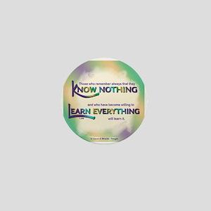 ACIM-Know Nothing Mini Button
