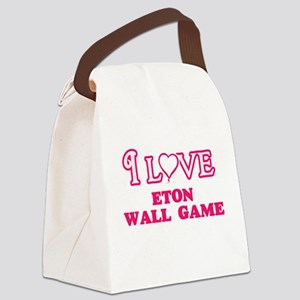 I Love Eton Wall Game Canvas Lunch Bag
