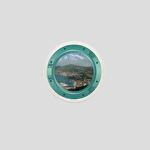 St Thomas Porthole Mini Button