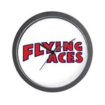 Flying Aces Club Wall Clock