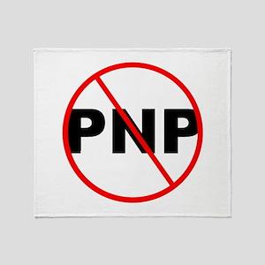 NO PNP Throw Blanket