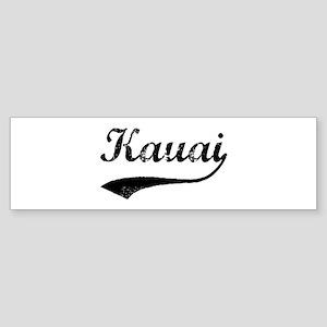 Vintage Kauai Bumper Sticker