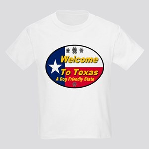 Welcome To Texas A Dog Friendly State Kids Light T