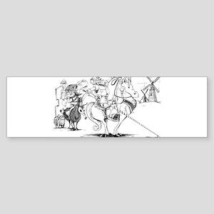 Don Quixote Sticker (Bumper)